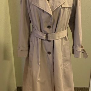 Women's London fog trench coat size 12